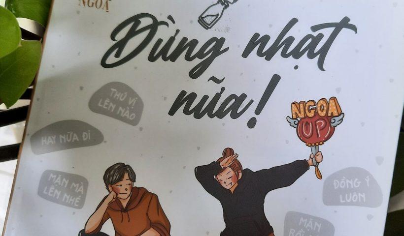 sách đừng nhạt nữa - fanpage Ngoa