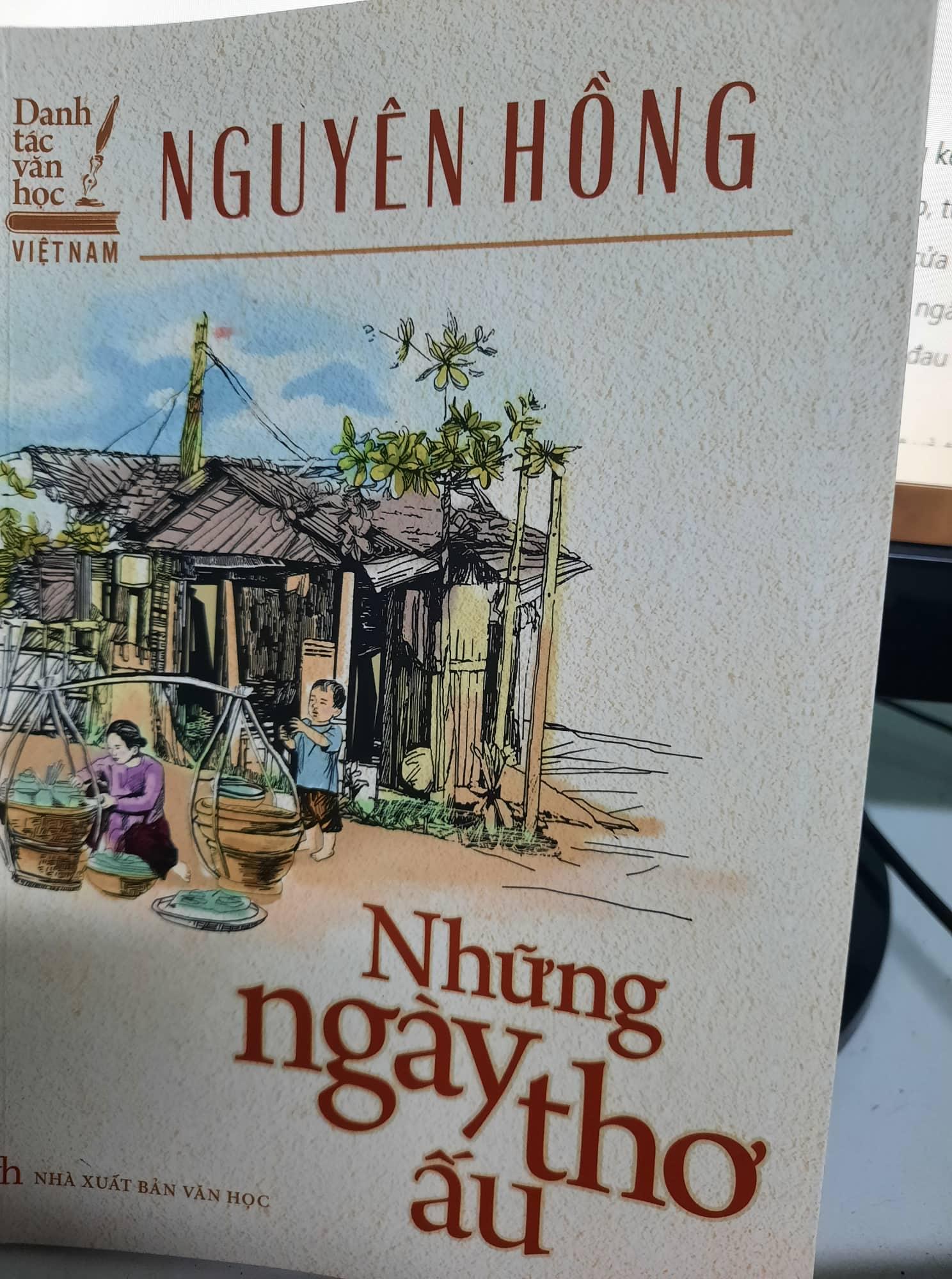 Những ngày ấu thơ - Nguyên Hồng - Văn học Việt Nam - Blog review sách hay