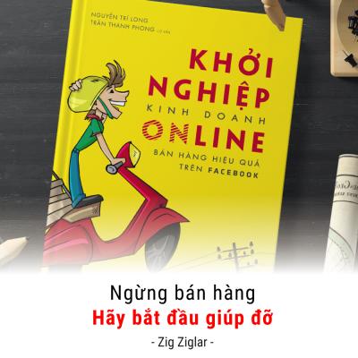 khởi nghiệp kinh doanh online - nguyễn trí long - blog review sách hay