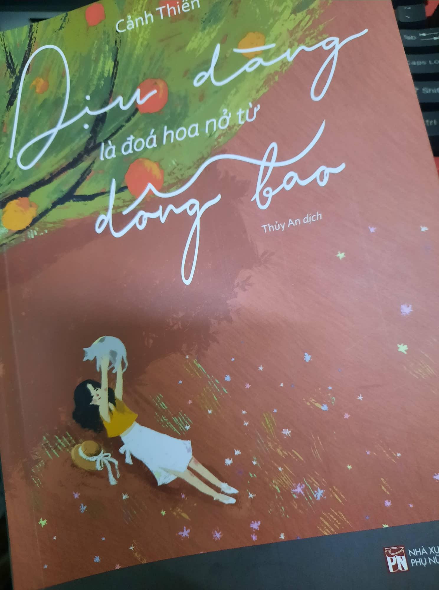 dịu dàng là đoá hoa nở từ dông bão - cảnh thiên - blog review sách hay